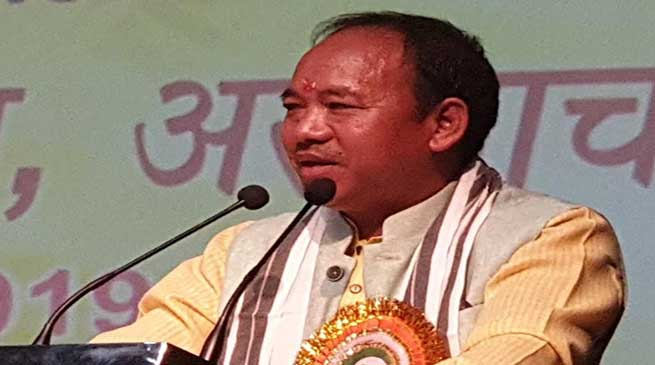 India is lucky to have PM like Narendra Modi- Mama Natung