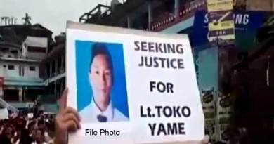 Toko Yame murder case: ACS urges CM, HM for early justice