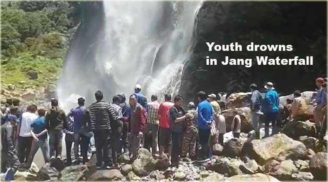 Arunchal: Youth drowns in Jang Waterfall in Tawang