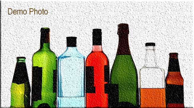 Arunachal: large quantity of alcoholic beverages seized from weekly market
