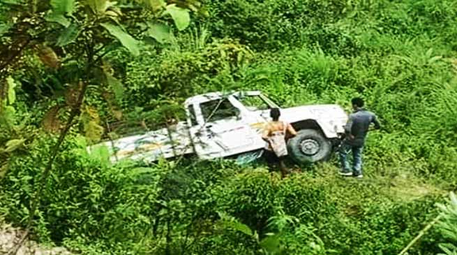Arunachal: 1 dead, 23 injured after Bolero carrying players meets with accident