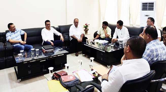 Arunachal: Dy CM Chowna Mein Chairs DPB Meeting in Namsai
