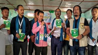 Photo of Arunachal: Clean and green sagalee NGO lunches its BYE-LAW