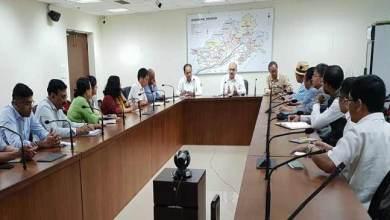 Photo of Arunachal: CS Naresh Kumar holds coordination meeting