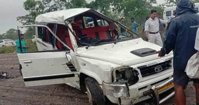 Arunachal, , Died , injured , Tata Sumo , accident