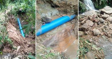 water supply affected in Itanagar as pipeline damaged due to landslide
