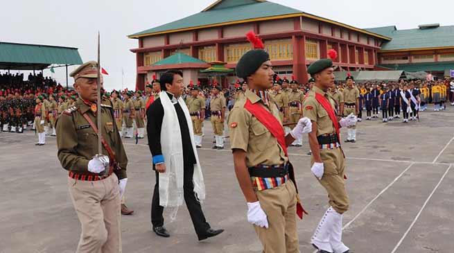 73rd Independence Day celebrated at Tawang, Lumla
