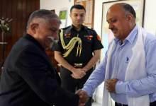 Photo of Arunachal: New Chief Secretary calls on the Governor