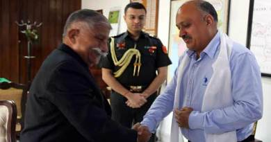 Arunachal: New Chief Secretary calls on the Governor