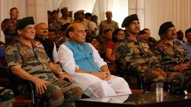 Photo of Rajnath Singh attends International Army Scout Masters Competition 2019 held at Jaisalmer