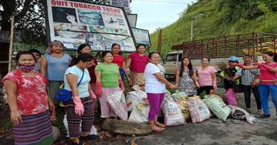 Arunachalee women doing Noble job, cleaning their village every fortnight