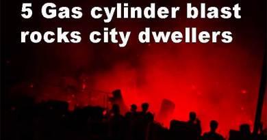 Itanagar: 5 Gas cylinder blast rocks city dwellers