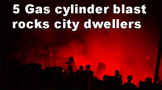 Itanagar: 5 Gas cylinder blast rocks city dwellers