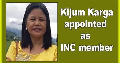 Arunachal: Kijum Karga appointed as INC member