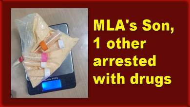 Arunachal: MLA's Son, one other arrested with drugs