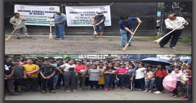 Arunachal: NSS Cell of NERIST Conducts mass cleaning campaign