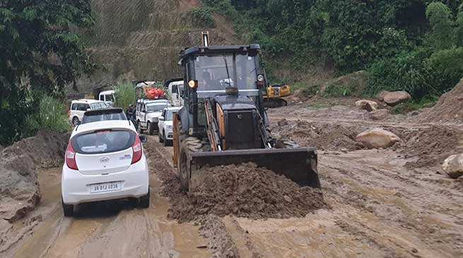 Itanagar: The story of NH-415 and commuters....