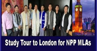 Arunachal: Sangma announces Study Tour to London for NPP MLAs