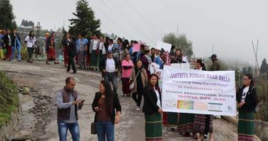 Arunachal: Rashtriya Poshan Maah Rally in Tawang