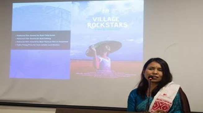 """""""The biggest challenge is to convince yourself"""" Rima Das at Royal Global University"""