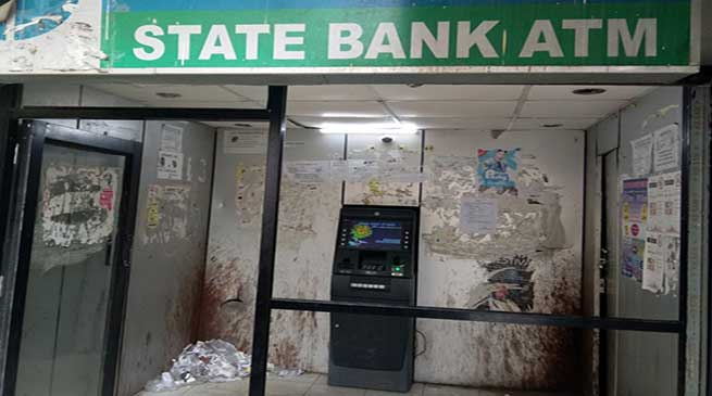 Itanagar: ATM is in ramshackle condition but always functioning