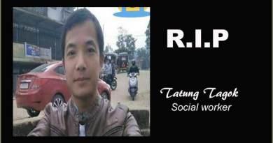 Itanagar: Tatung Tagok's death, is it natural or unnatural..?