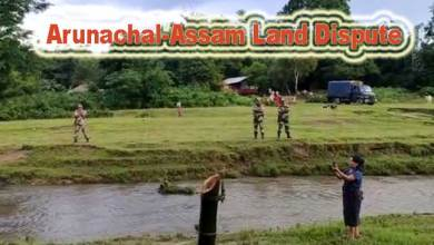 Photo of Video of Arunachal-Assam Land dispute in Kangku goes viral in social media