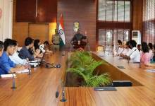 Photo of Arunachal: Governor shared the background of Article 35A and Article 370, with students