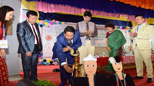 """Arunachal:DNGC Organizes National Seminar on """"Understanding Tribes of Northeast India: Issues and Challenges"""""""