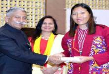 Photo of Arunachal Governor felicitates best performing CDPOs