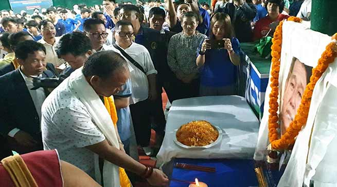 Itanagar: Mama Natung inaugurates 7th Dorjee Khandu memorial state open badminton championship-2019