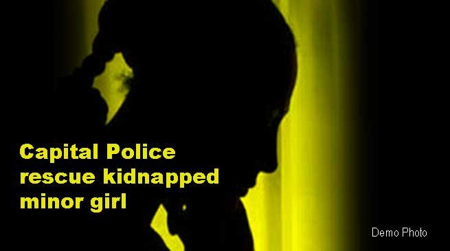 Itanagar: Capital Police rescue abducted minor girl