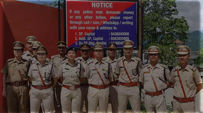 Notice Board to fight alleged corruption in Capital Police