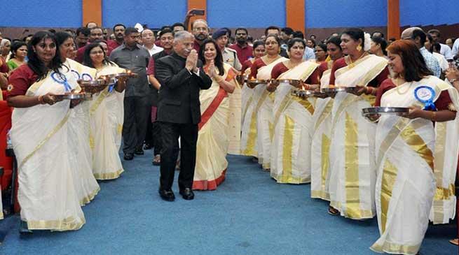 Arunachal: Governor attends silver jubilee of Kerala Kala Samskarika Vedi (KKSV)