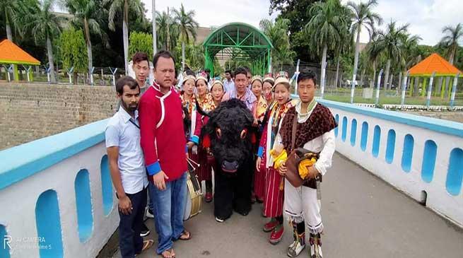 World Tourism Day: Yak Dance of Arunachal on Chennai's Street
