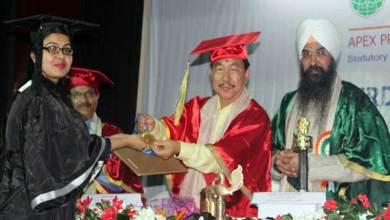 Photo of Arunachal: APU celebrates 3rdconvocation