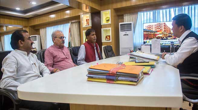 Arunachal: FANS president met CM Pema Khandu