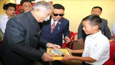 Photo of Arunachal: Governor felicitates meritorious students and Gaon Burahs