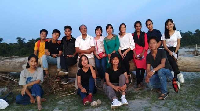 Arunachal: Ignited Minds group from JNC visits Seram village