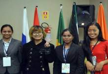 Photo of 5th BRICS Youth Summit:  Pinggam, Dakpe from Arunachal represent India