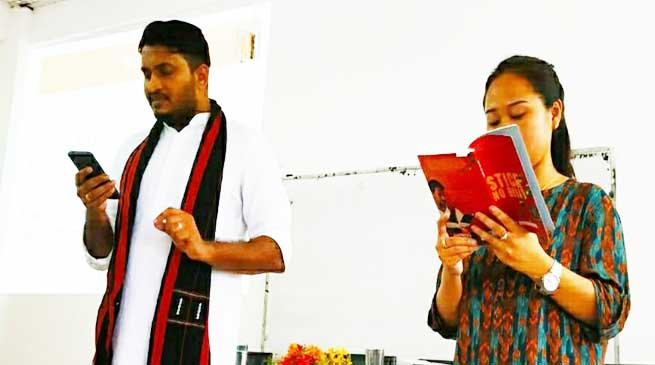 Arunachal: RGU's English Dept hosted Poetry Reading and Creative Writing Workshop