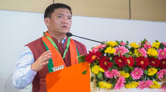 Pema Khandu strongly reiterated for separate IAS, IPS, IFS cadre for Arunachal Pradesh
