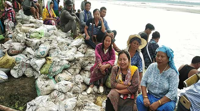 Arunachal: YWS initiate flood control measures to protect several villages from erosion