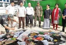 35 Kg Tobacco seized from Civil Secretariat campus disposed