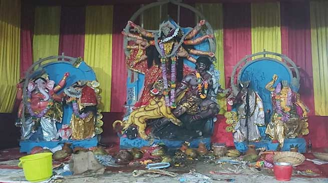 Arunachal: Idols of Goddess Durga vandalized in Doimukh, 3 arrested