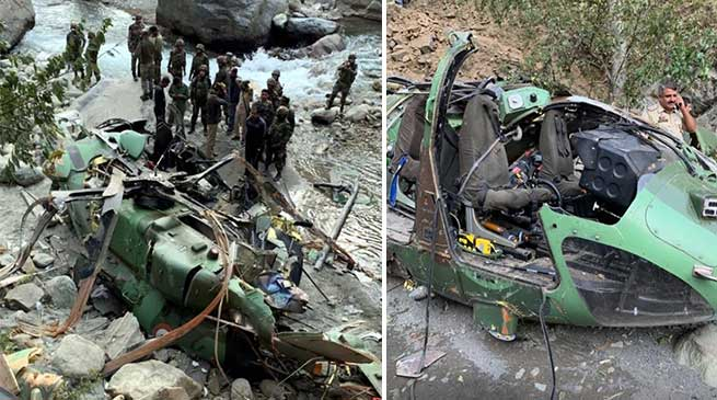 Poonch: Army's Advanced Light Helicopter makes emergency landing