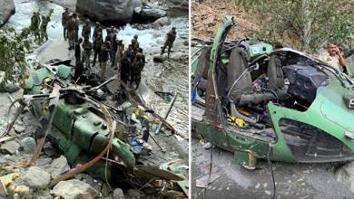 Photo of Poonch: Army's Advanced Light Helicopter makes emergency landing