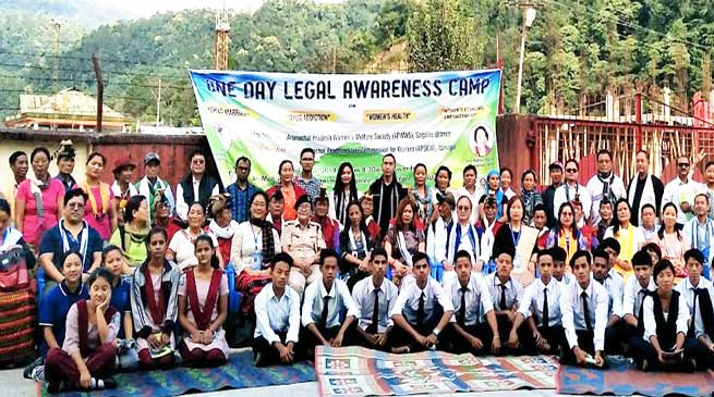 Arunachal: APWWS organised legal awareness camp in Sagalee on women and children issues