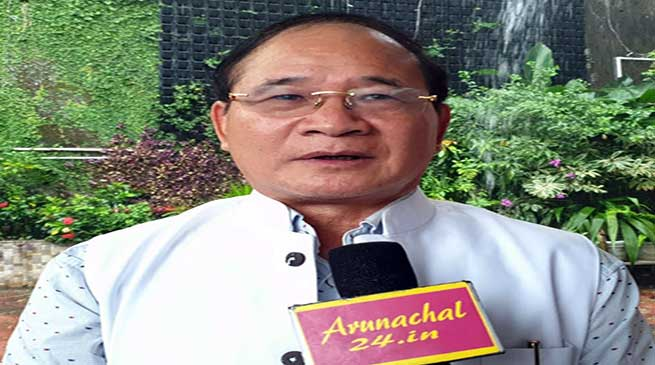 Arunachal: Nabam Tuki concerned over disinvestment of NEEPCO
