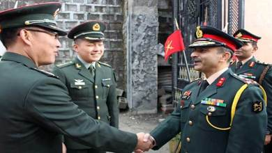 Photo of Indian Army and PLA jointly celebrate Chinese National Day